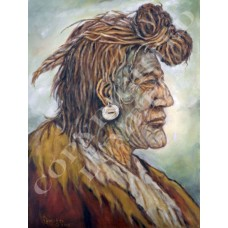 Piegan Blackfoot Indian w/Headdress