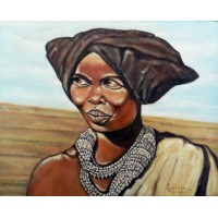 Xouza Woman With Headress